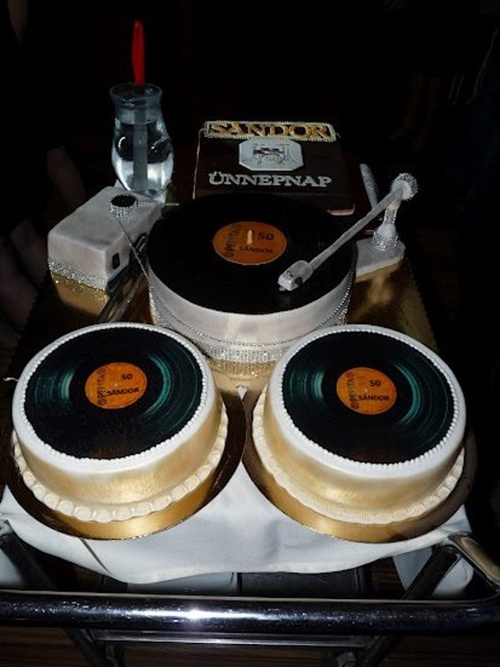 Music Record Th Birthday Cakes