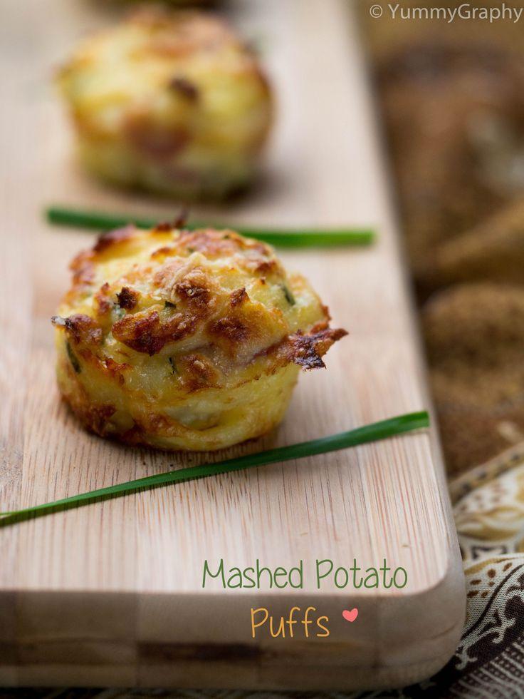 Mashed Potato Puffs - YummyGraphy