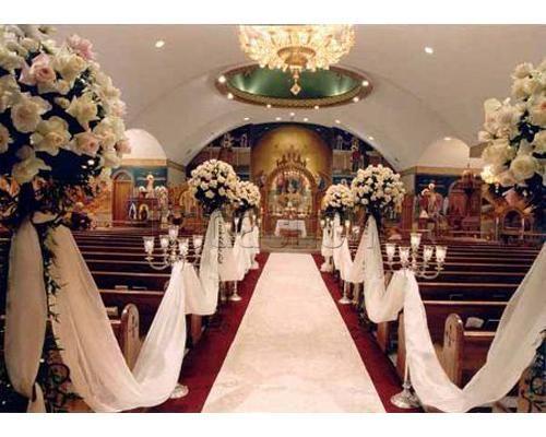 decoración para la ceremonia de la boda / decoración iglesia / #boda