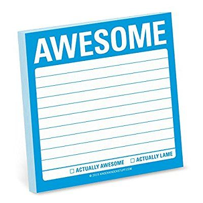 Knock Knock Awesome Sticky Note (Simple Stickies)