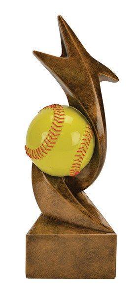 Softball Trophy - Storm Resin - Multiple Sizes
