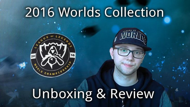 2016 Worlds Collection Unboxing & Review: Riot Games Merch - League of Legends https://www.youtube.com/watch?v=V_hdlZRaU0A #games #LeagueOfLegends #esports #lol #riot #Worlds #gaming
