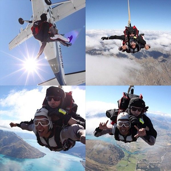 sky dive - First time skydiving, 12.000 feet!
