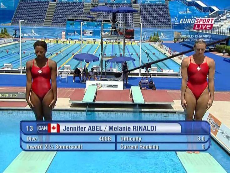 Roma09 Jennifer Abel & Melanie Rinaldi #1