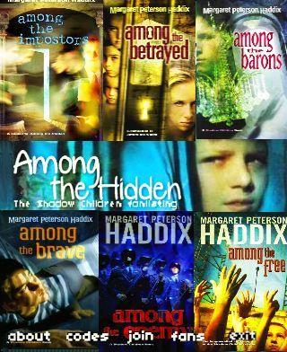 All the Books in the Shadow Children series!