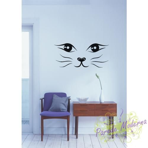 Oh, I have a room with all cat stuff. This would be so cool to do on the wall.