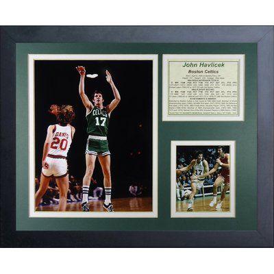 Legends Never Die John Havlicek Framed Memorabilia
