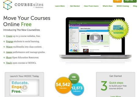 CourseSites - Create Your Own Online Course | teaching with technology.  Much more open and easier to use than BlackBoard, and free.