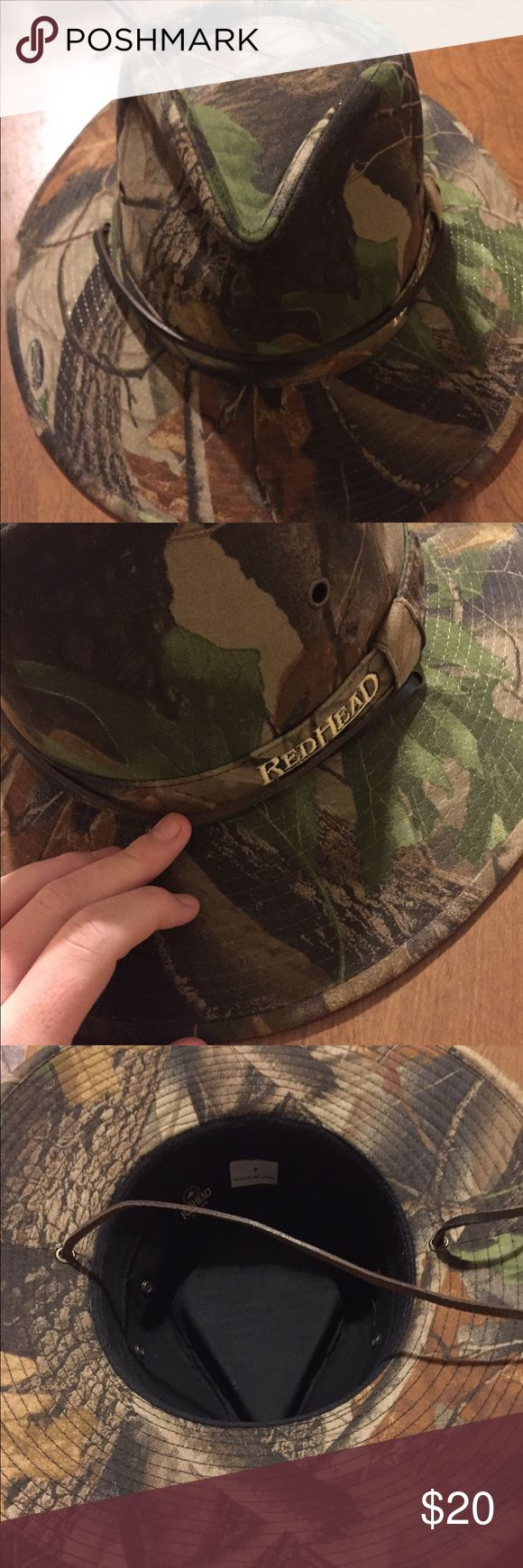 Redhead camo bucket hat Brand new. Men's size small camo hat redhead Accessories Hats