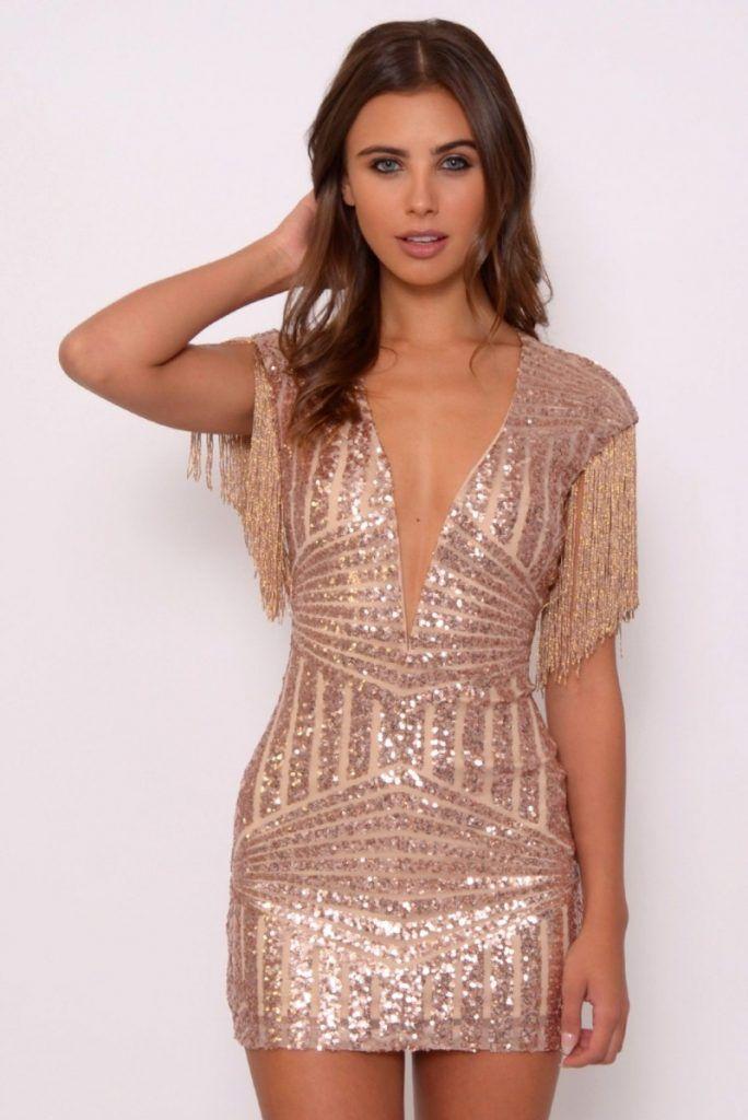 37 Best Christmas Party Dresses 2018 2019 B2b Fashion Sequin Dress Short Gold Dress Short Gold Cocktail Dress