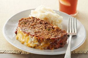 Fiesta meatloaf but use GF stuffing mix