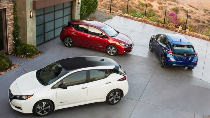 2018 Nissan Leaf makes its Boston debut during National Drive Electric Week