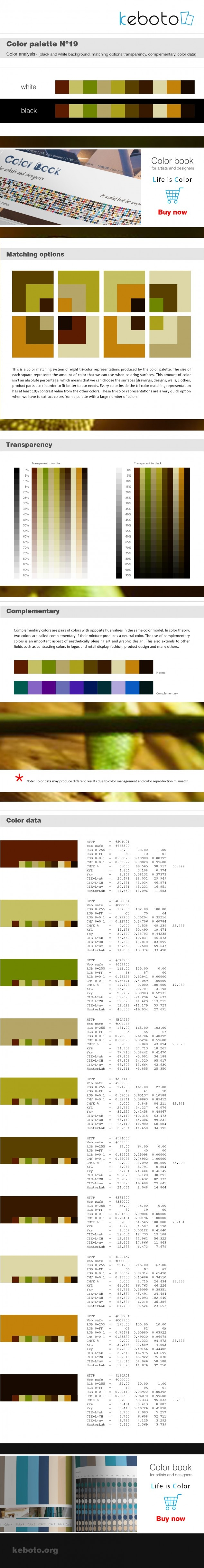 Keboto - Color Palette No19