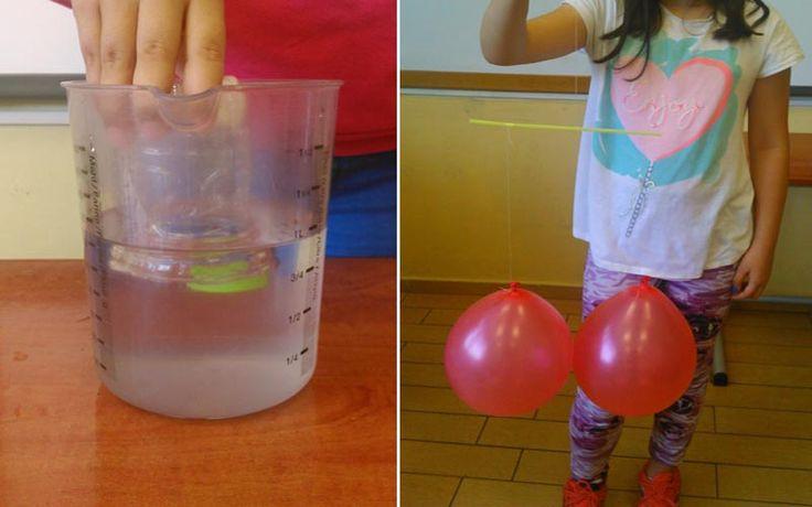 Πειράματα Φυσικής στην Ε΄ τάξη των Ιδιωτικών Εκπαιδευτηρίων Βέροιας