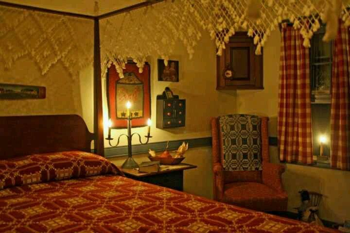 215 best images about primitive bedrooms on pinterest for Colonial bedroom ideas