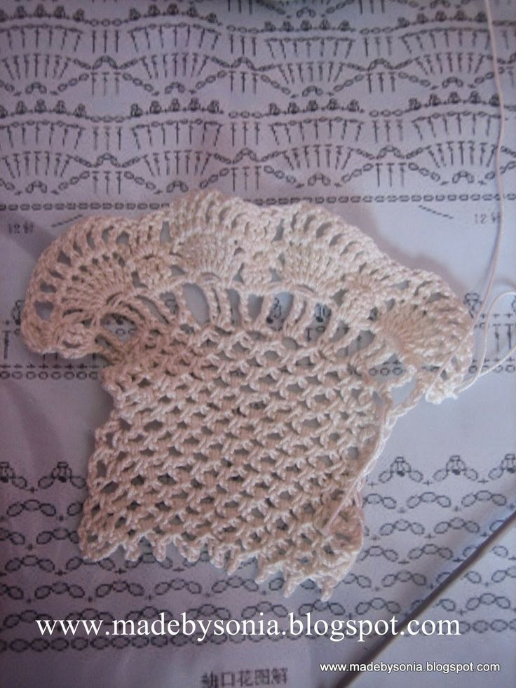 made by sónia: Amostra de crochê - Crochet sample