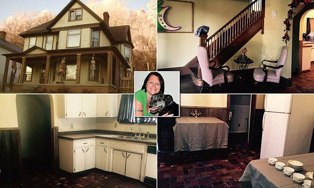 The century-old residence at 1699 Belmont Street in the small town of Bellaire, Ohio, has gained notoriety as a hotbed of supernatural activity, complete with frightening, ghostly apparitions.
