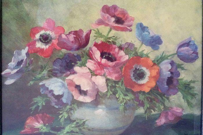 Lucien Manceau (1873-1937) - Bloemstilleven