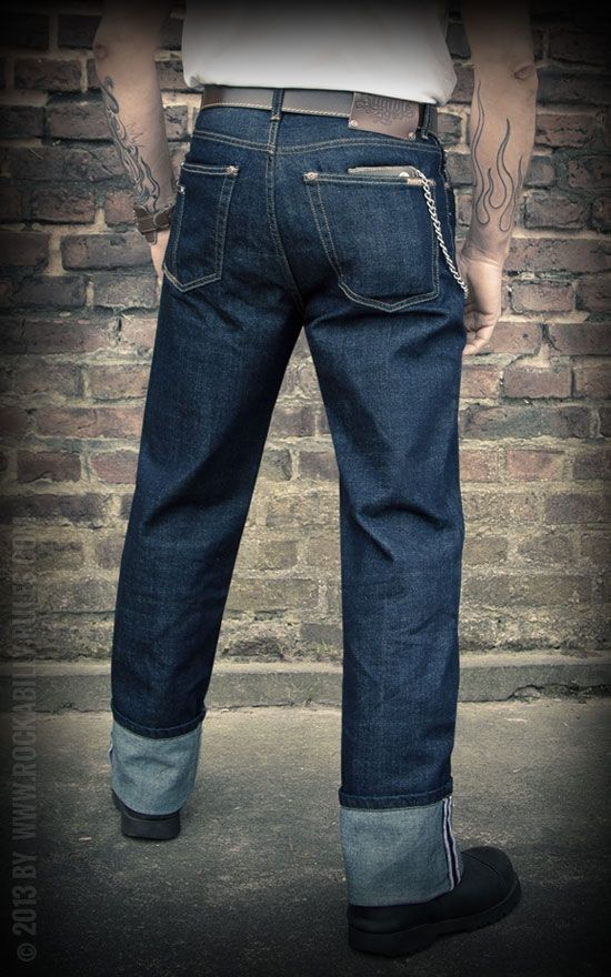 Rumble59 Denim - Greasers Gold - Die mit dem Kamm - Rockabilly-Rules.com