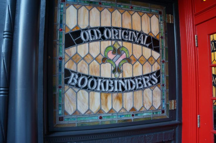 Jose Garces's Olde Bar Opens 2015 - Foobooz Old Original Bookbinders 125 Walnut St., Philly I was lucky enough to dine there in 1982