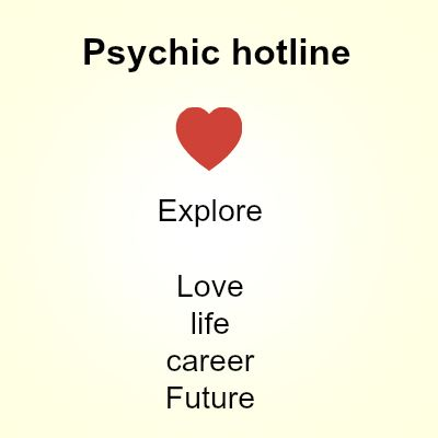 A psychic hotline is a process where people have talk conversations over the telephone or wireless communications with this the client may not need to wait and stand in queues for their appointment numbers and the plus point with this psychic hotline facility is available across the clock to any of the psychic reader you need to contact.