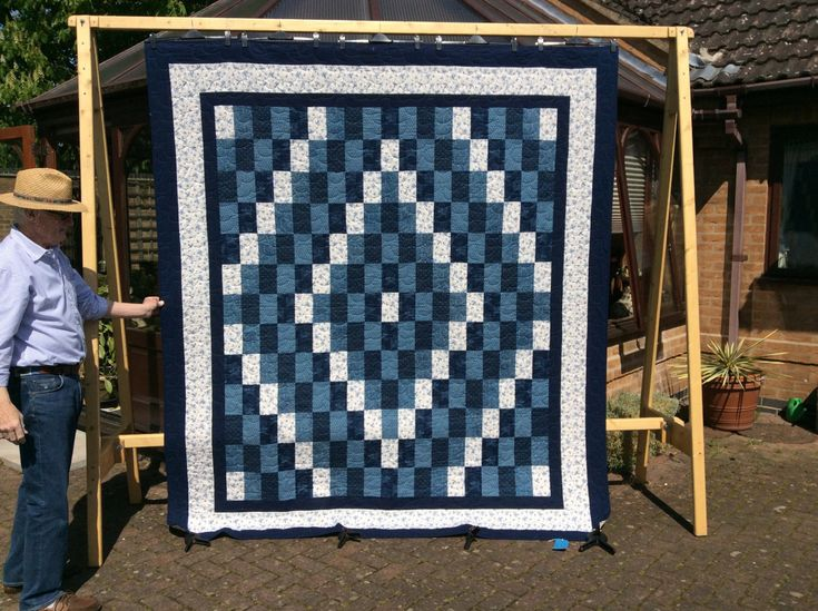 1416 best handmade quilts and gifts images on pinterest patchwork queen size trip around the world quilt quilttchwork quiltwarming gift negle Images