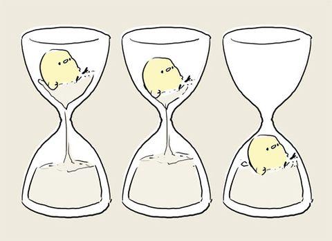 「砂時計」/「ものゆう スタンプ」のイラスト [pixiv]
