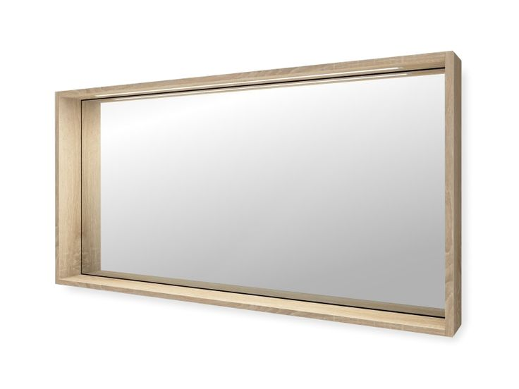 Bad Spiegel nach Maß mit Regalrahmen