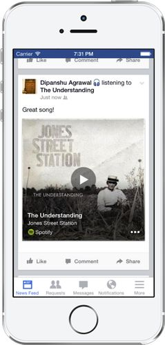 Facebook Adds Shazam-Like Software to Their Mobile Apps... - Digital Music News