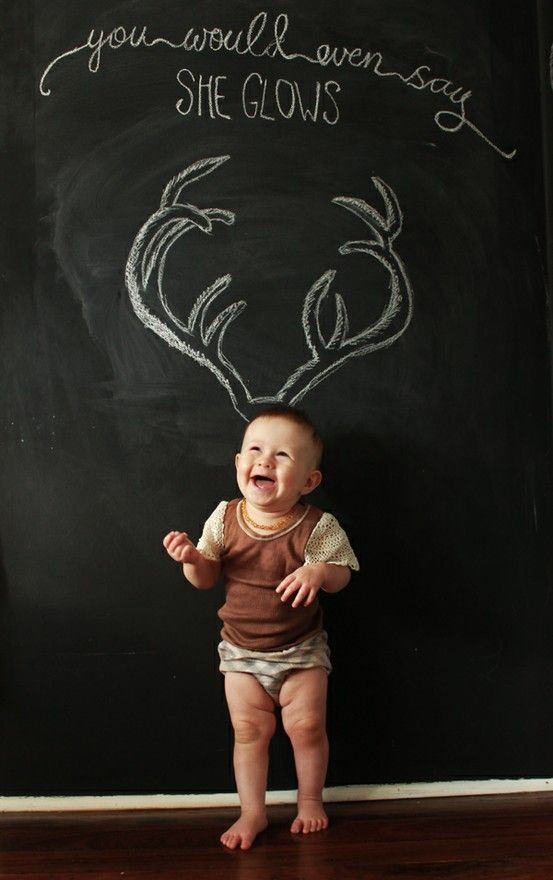 Chalkboards + photo session ... :)  ********************************************