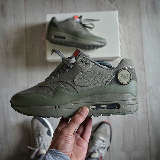 Air Max 1 'Patch Pack' Olive ||  by @houdelaly