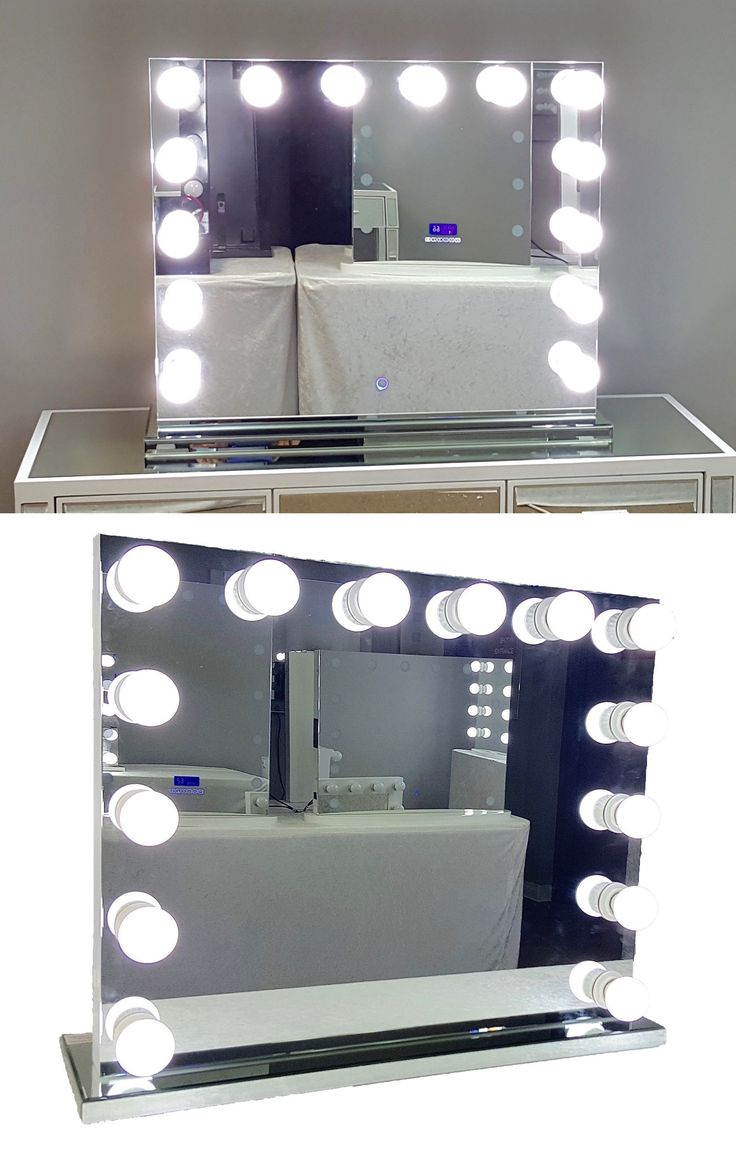 Vanity Mirror With Lights And Plugs : 1000+ ideas about Lighted Vanity Mirror on Pinterest Diy vanity mirror, Vanity ideas and Diy ...