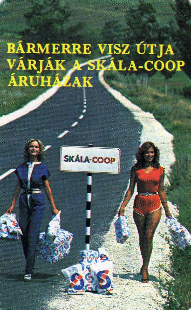 SKÁLA-Coop Szövetkezeti Áruházak – 1982 | Kártyanaptárak - retro divat