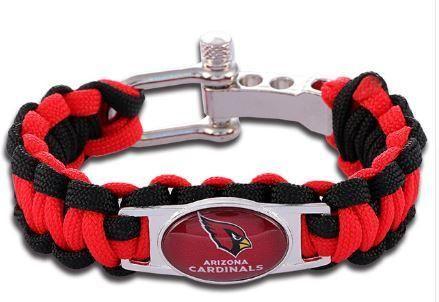 NFL - Arizona Cardinals Custom Paracord Bracelet