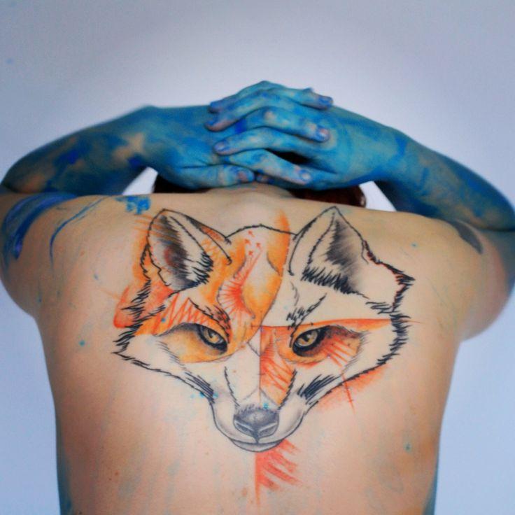 Tattoo Fox Redfox tatouage