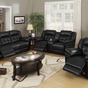 Living Room Ideas Black Leather Furniture