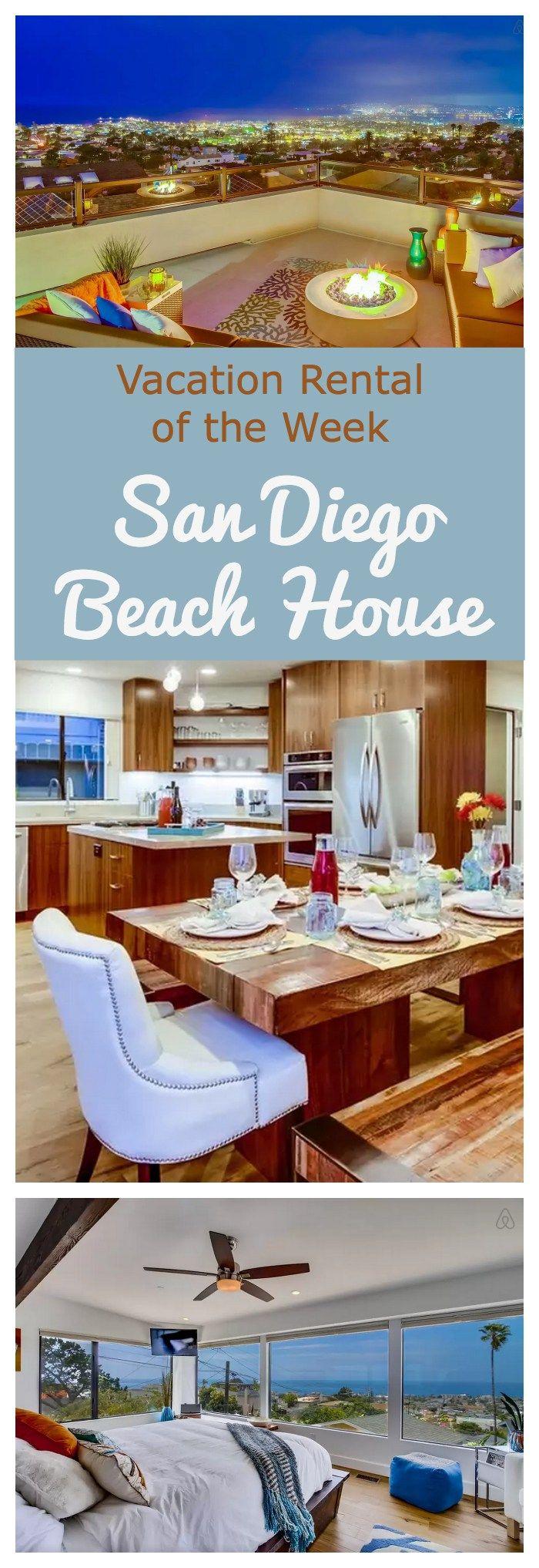 San Diego Beach House Available on Airbnb