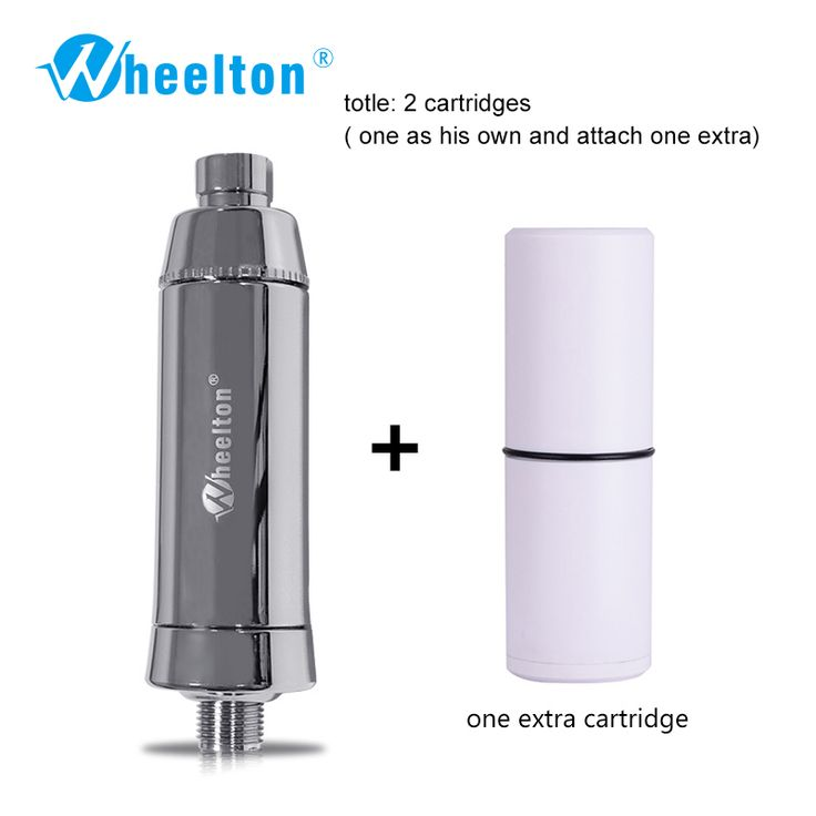 Mandi rumah tangga pemurni Air filter Deklorinasinya Shower filtrasi air Lembut Melampirkan ekstra 1 kartrid Gratis pengiriman