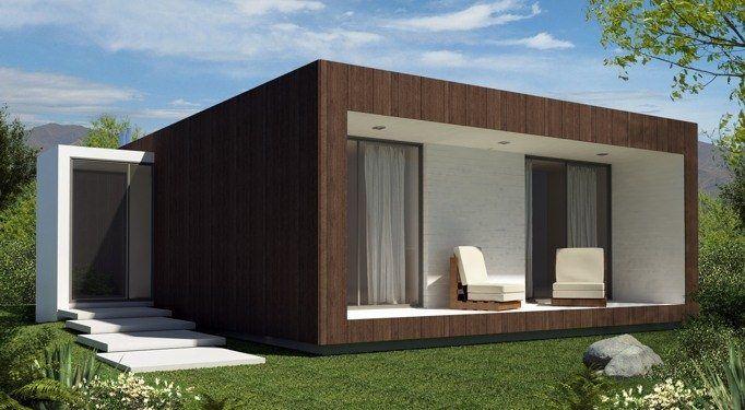 M s de 25 ideas incre bles sobre casas modulares en - Casas de madera y mas com ...