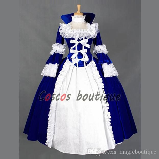 Find angel costume, vampire costumes and superman costume and they are gathered here for your choice. The gorgeous victorian dress ball gown medieval gothic palace dress short sleeve rococo dress custom made provide by magicboutique gives you whatever you want.