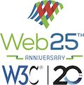 Web 25th and W3C 20th anniversary