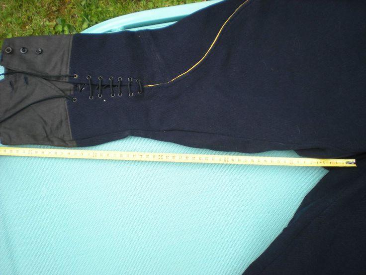 pantalon français officier sous officier chasseur alpin ou a pied 2 eme guerre   eBay