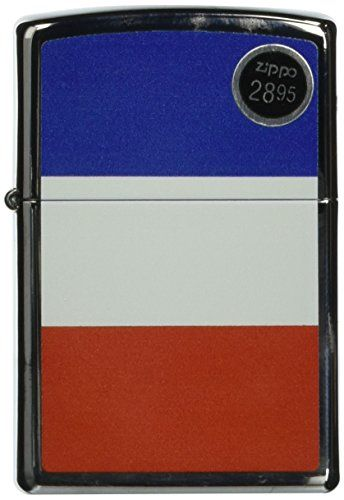 Zippo Custom Lighter France Flag High Polish Chrome Finish * Read more  at the image link.
