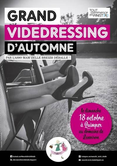 affiche Grand Vide-dressing d