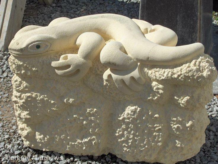 Oamaru Stone Lizard