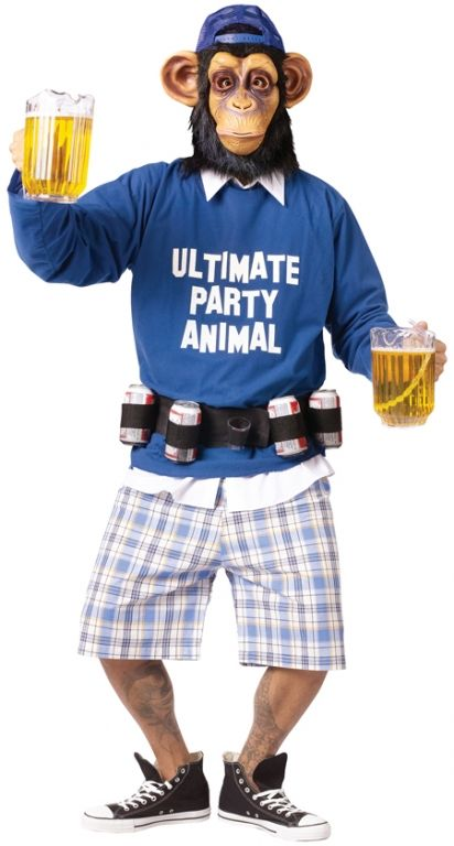 Ultimate Party Animal Costume - Adult Costumes @Haley Yearout perfect for theta zoo?!