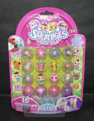 Blip Toys Squinkies Series 3 Bubble Pack 16 Squinkie characters & 16 Containers