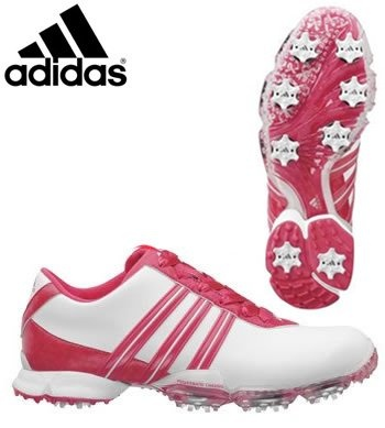 Adidas' new 2011 signature Paula ladies golf shoes were developed with LPGA Tour Professional Paula Creamer. The shoes have full grain leather that stands out with a rich, bold look. Now available in the full array of sizes and colors. Put some style in your game with these Signature Paula shoes and you're sure to enjoy them for years to come. http://www.amazon.com/dp/B0047EILG0/?tag=icypnt-20