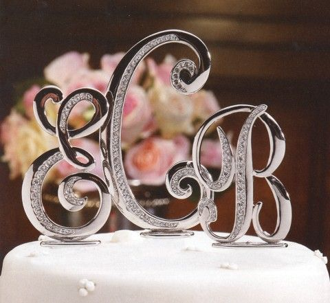 wedding cake monogram toppers 1000 ideas about monogram wedding cakes on 23277