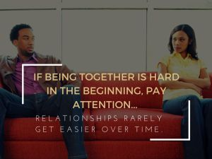 If it's too hard to find time for each other, calling feels